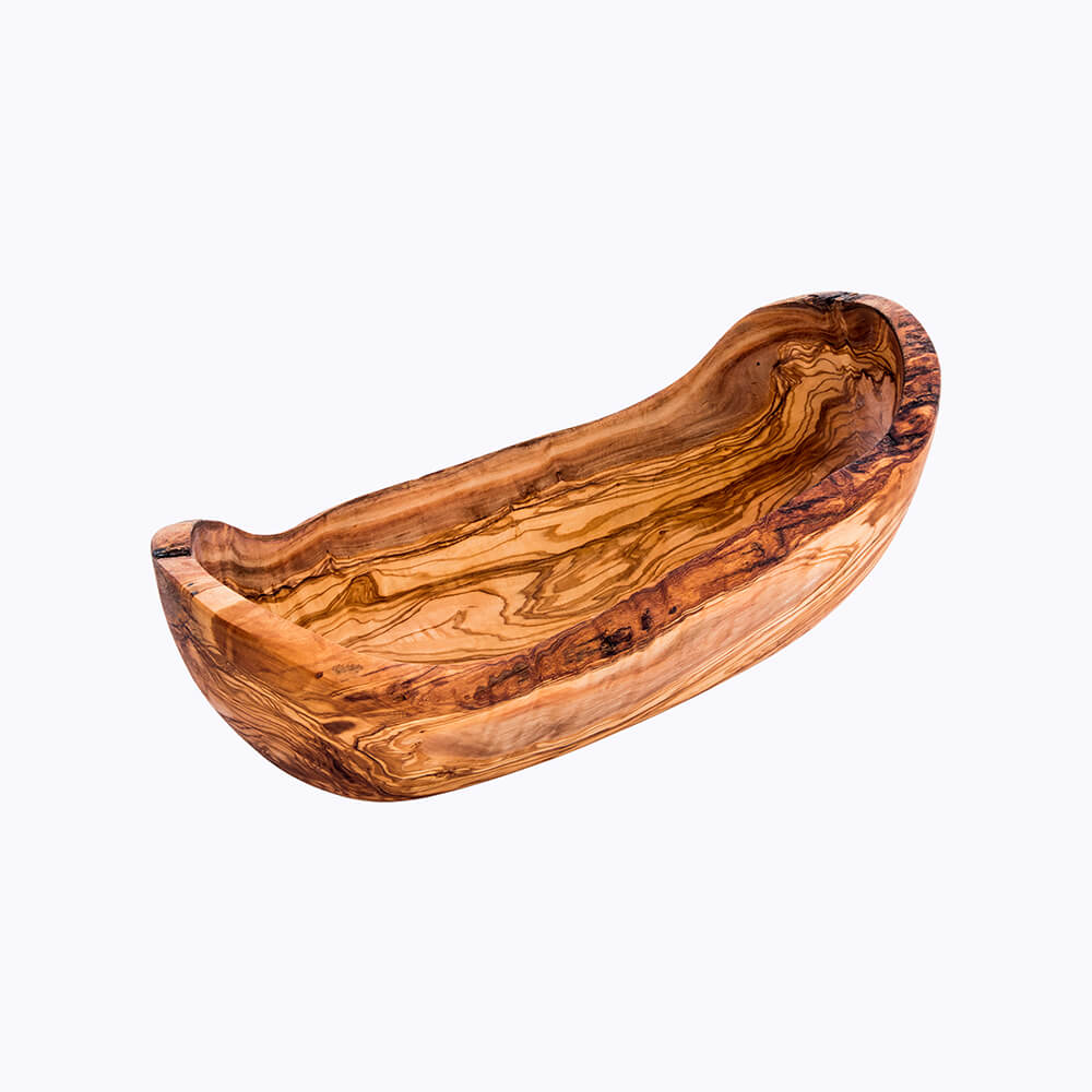 corbeille de fruit pain oval bois olive kartysan tunisie-kartysan