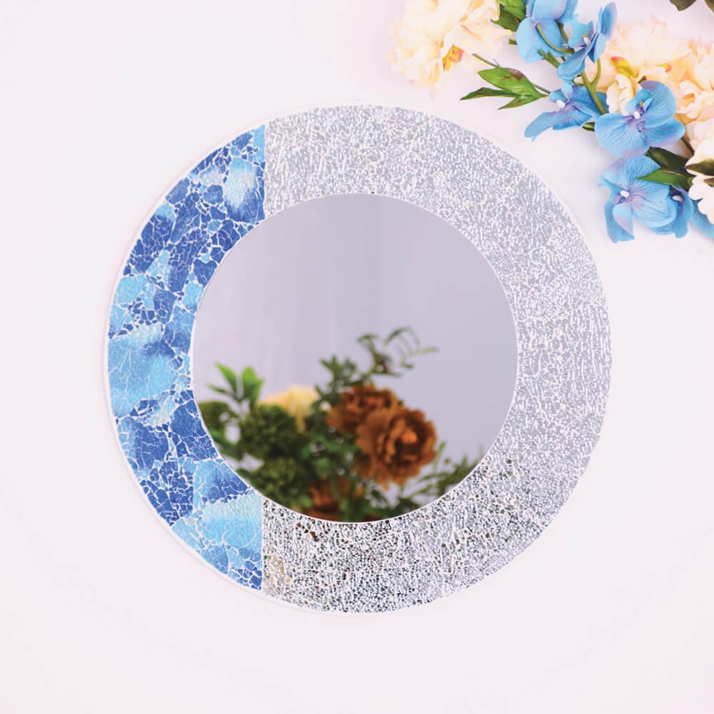 miroir rond demi napoli-kartysan