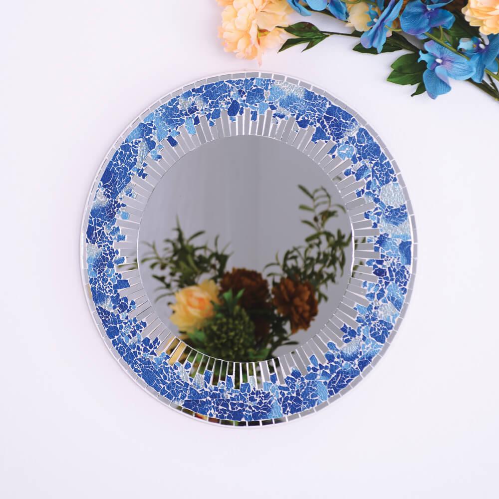 miroir rond soleil napoli-kartysan