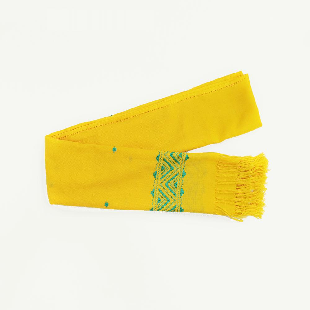 kahina echarpe jaune-kartysan